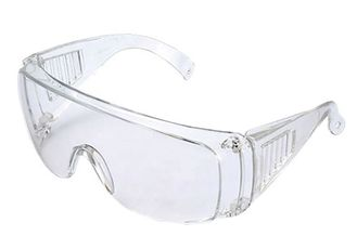 China Working Eye Protection Goggles , Fog Proof Safety Glasses Prevent Influenza Virus supplier